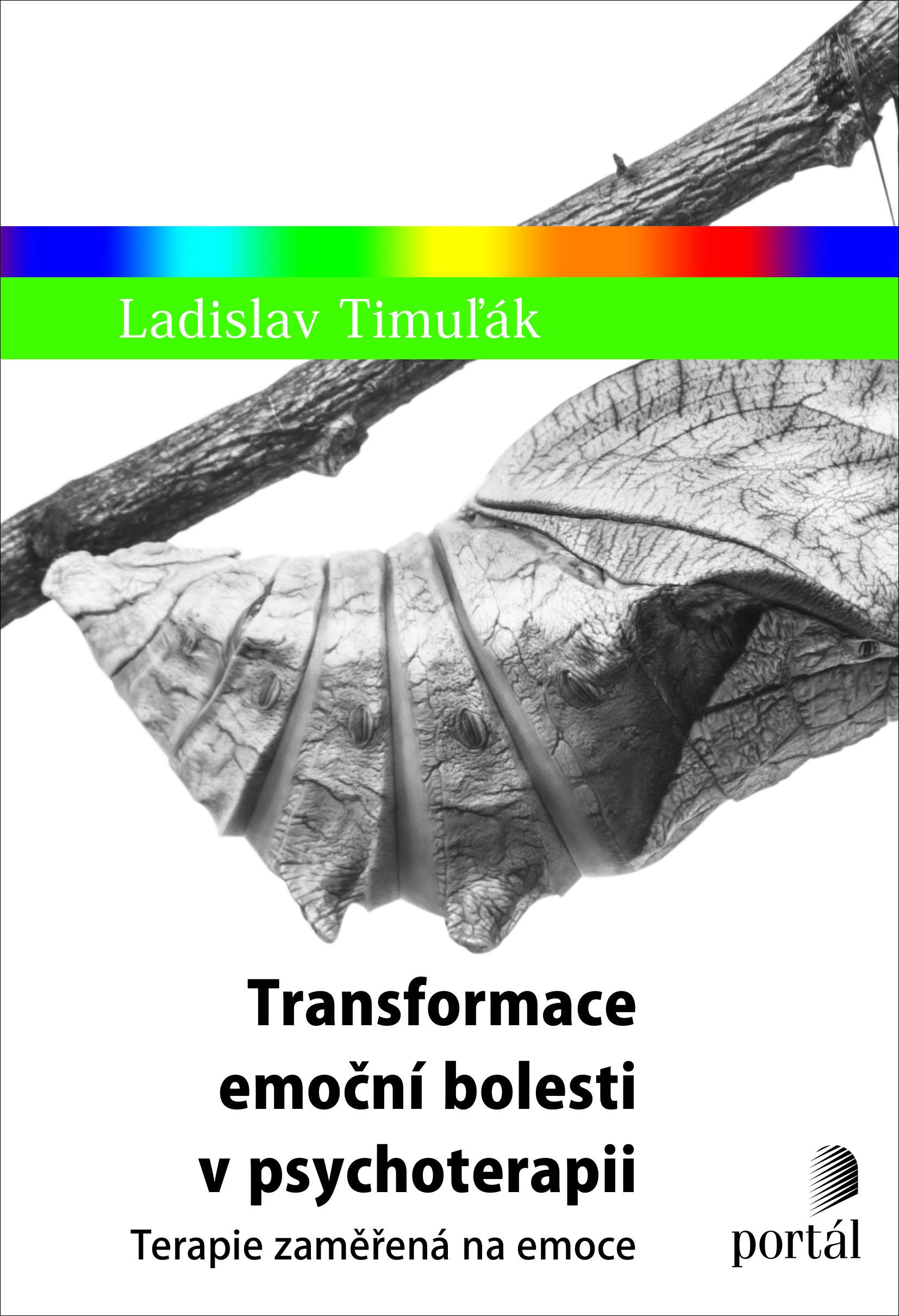 Transformace emoční bolesti vpsychoterapii: terapie zaměřená na emoce. Obálka knihy