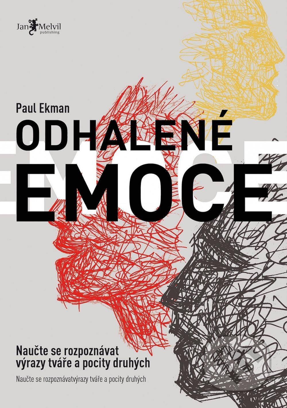 Odhalené emoce Obálka knihy
