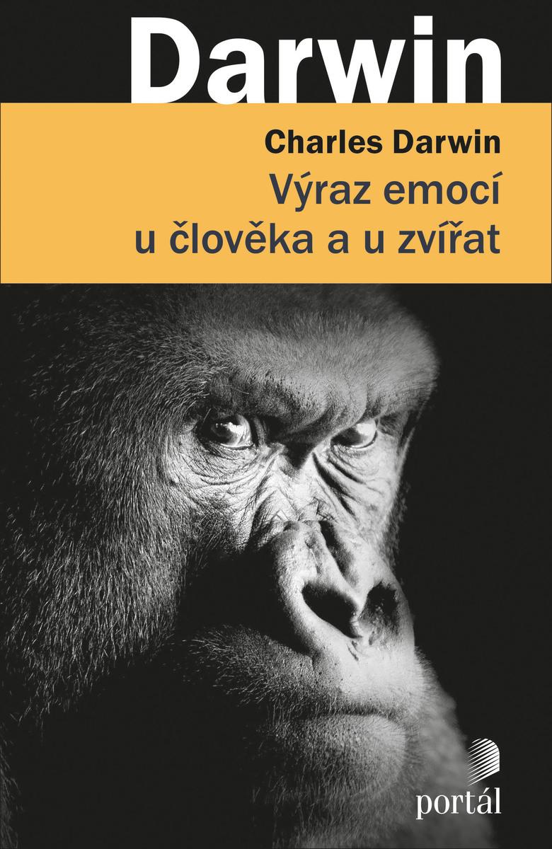 Výraz emocí u člověka a u zvířat Obálka knihy