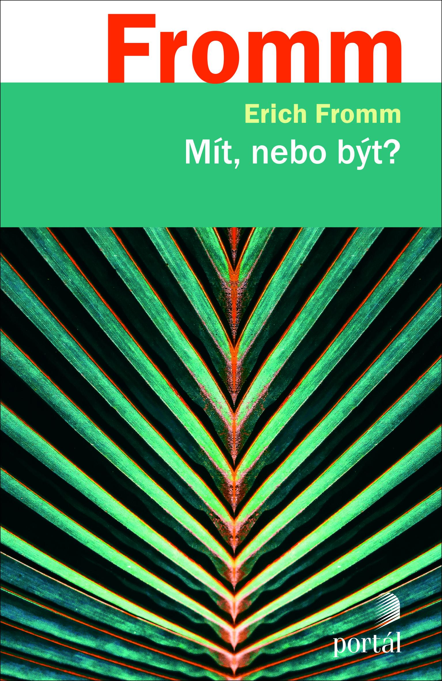 Mít nebo být? Obálka knihy
