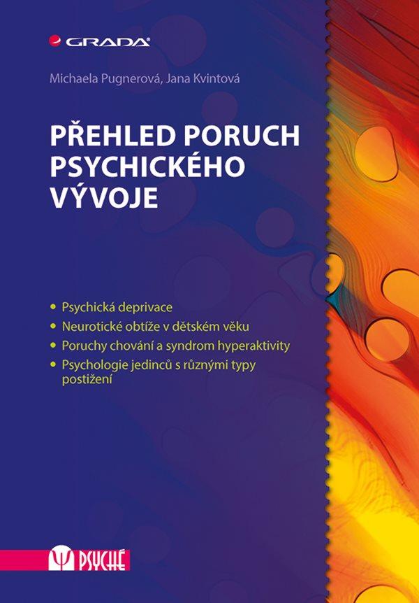 Přehled poruch psychického vývoje Obálka knihy