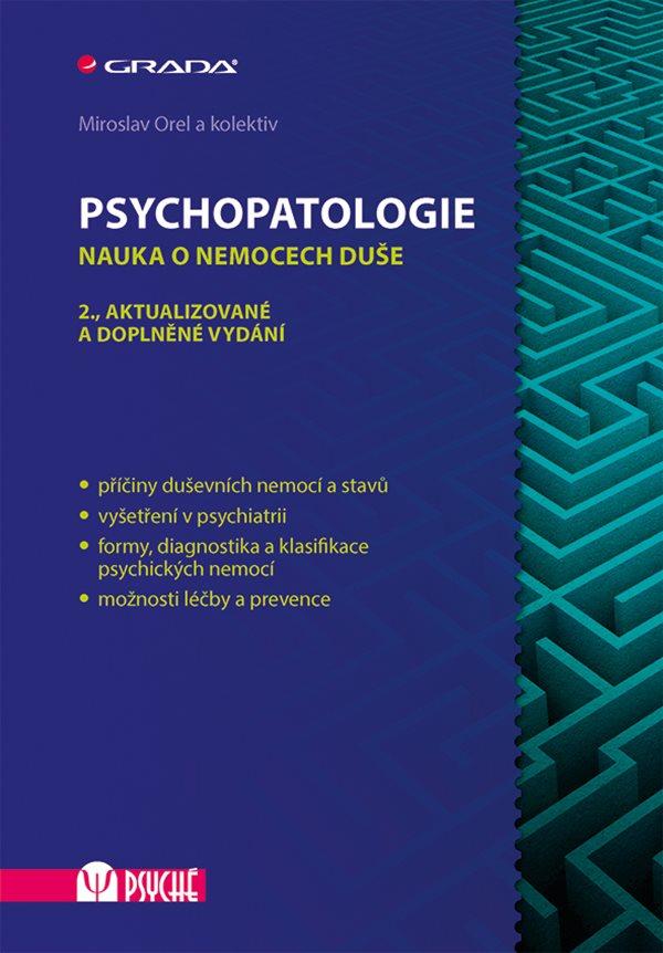 Psychopatologie: nauka o nemocech duše Obálka knihy