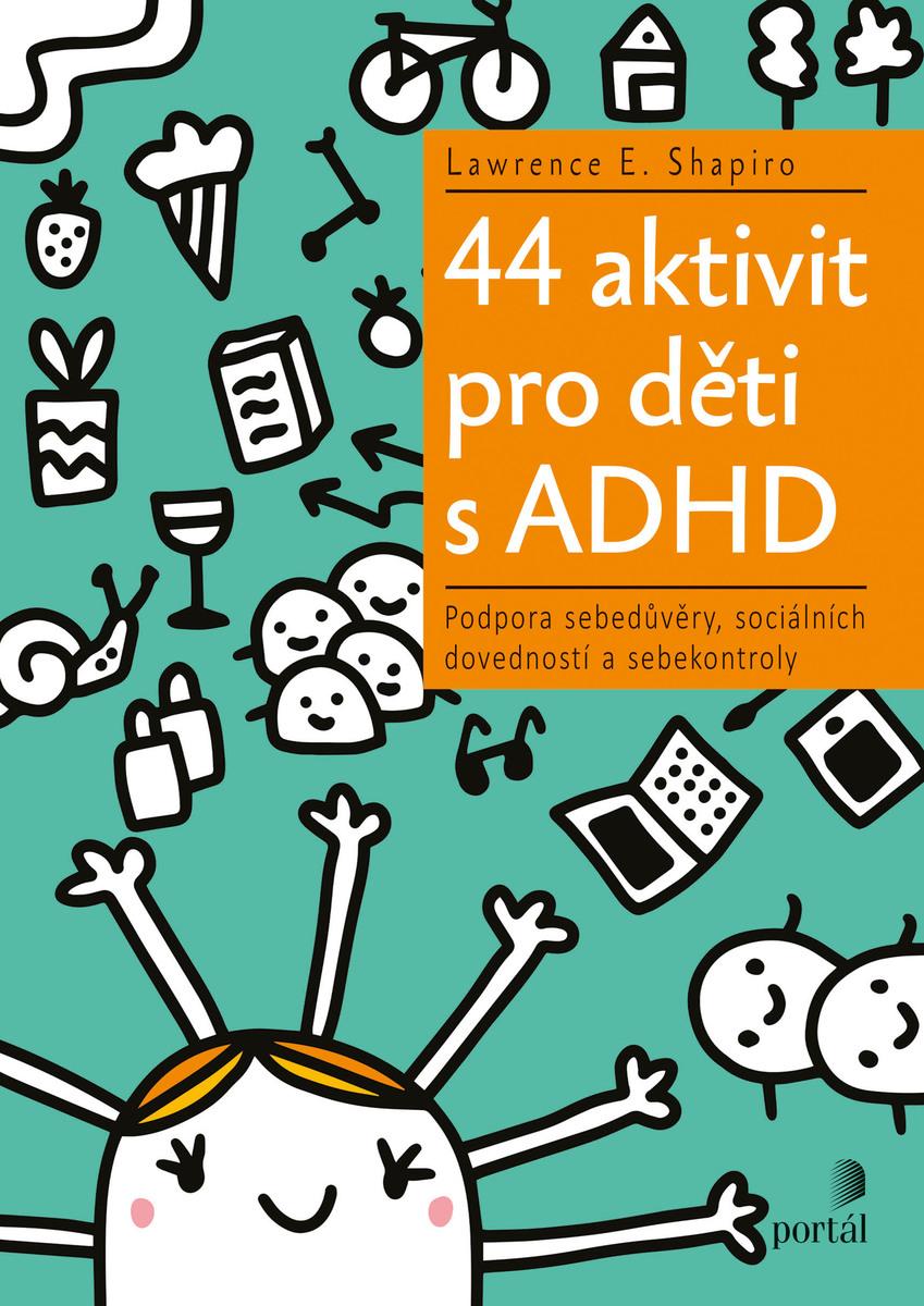 44 aktivit pro děti s ADHD Obálka knihy
